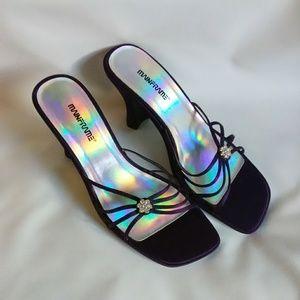NWOB Mainframe Purple heels